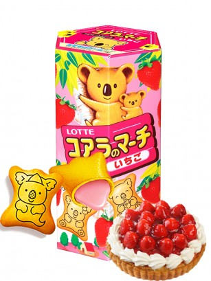 Galletas Koara Spring Ichigo | Japan Recipe
