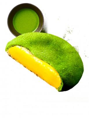 Soft Cookies de Matcha con Azuki Blanco | Unidad