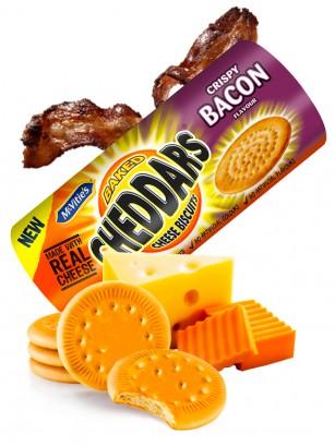 Galletitas Saladas de Cheddar con Sabor Bacon 150 grs