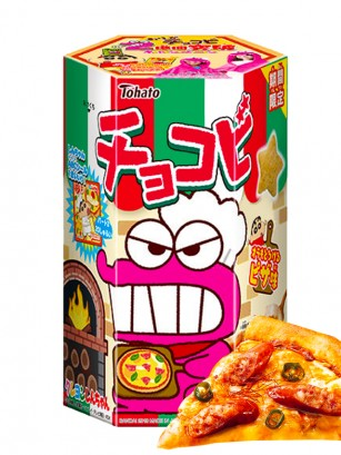 Galletas Snack Shin Chan Sabor Pizza con Queso | Edit. Limitada
