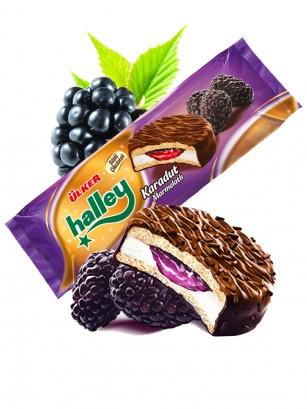 Galleta estilo Chocopie de Chocolate Crema de Nube y Moras | Ulker 236 grs