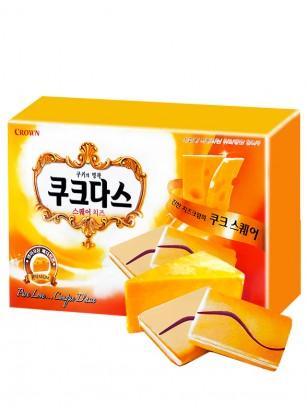 Galletas Coreanas Dulces Couque de Queso Cheddar 192 grs.