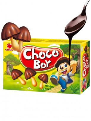 Galletitas Setas de Crema de Chocolate Receta Coreana 36 grs.
