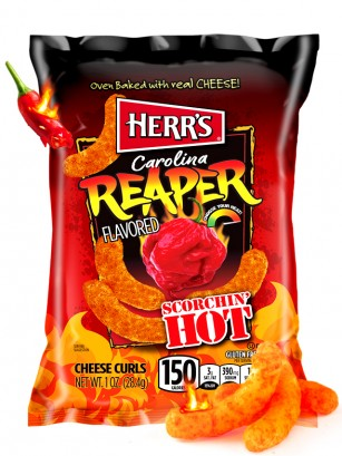 Ganchitos de Queso Ultra Hot Carolina Reaper | Edit. Pocket 28,4 grs.
