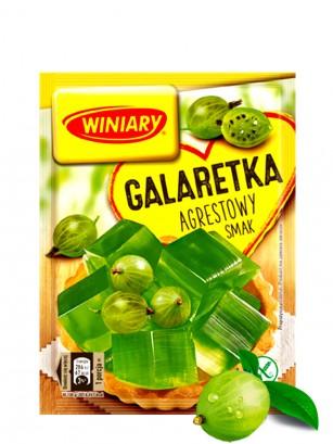Preparado para Gelatina Sabor Grosella Verde | 4 raciones