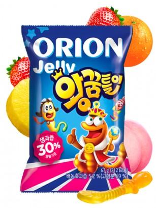 Gominolas Coreanas Rey Gusano 67 grs
