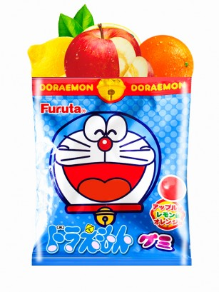 Gominolas sabor Manzana, Naranja y Limón | Doraemon 15 grs