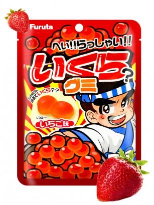 Gominolas Soft con Zumo de Fresa | Tarako Sushi 35 grs.