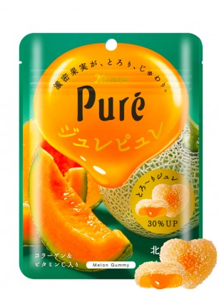 Gominolas Puro Corazón 2 Texturas de Zumo de Melón de Hokkaido 66 grs