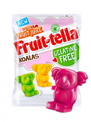 Gominolas Veganas Koalas de Zumo de Frutas | 3 Sabores 120 grs