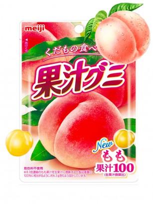 Gominolas de Zumo de Melocotón Rosado | Meiji 51 grs.