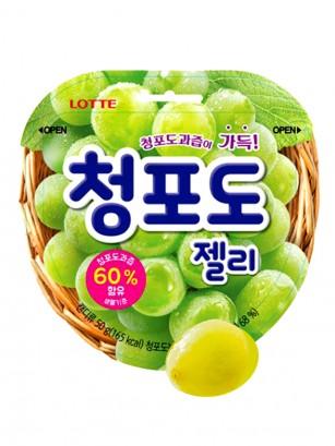 Gominolas Coreanas Lotte Sabor Uva 50 grs