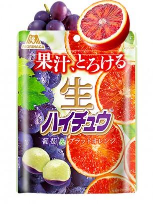 Caramelos Blandos Hichew de Uva y Naranja Sanguina | Receta Premium Mochi 60 grs