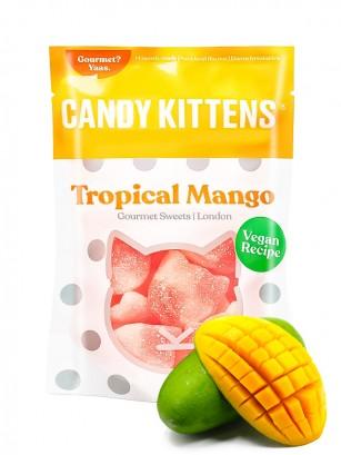 Gominolas Veganas Ácidas Candy Kitten | Tropical Mango 125 grs