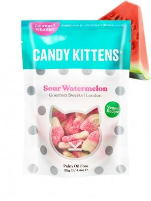 Gominolas Veganas Ácidas Candy Kitten | Zumo de Sandía 125 grs