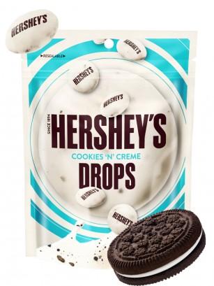 Grageas de Chocolate Blanco Hershey's con Cookies & Creme 80 grs.