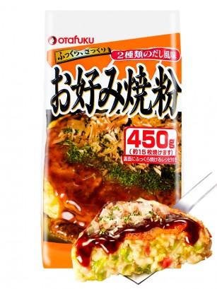 Preparado de Harina para Okonomiyaki con Kombu | 450 grs.