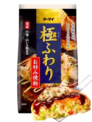 Harina Okonomiyaki Fluffy Esponjoso 400 grs