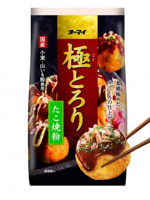 Harina Para Takoyaki Receta Jugosa 400 grs