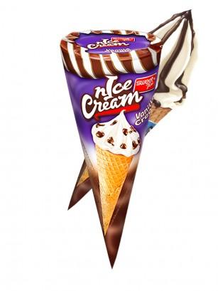 Snack Ice Cream de Vainilla y Stracciatella 40 grs