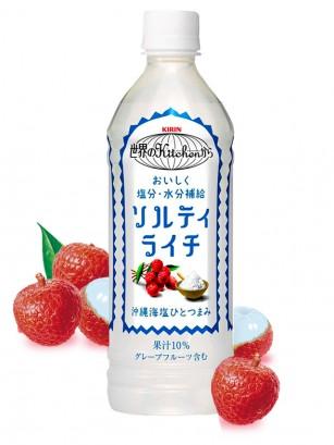 Bebida de Zumo de Lichi con un Toque de Sal | Kirin 500 ml
