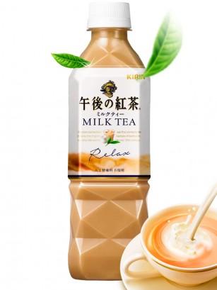 Té Negro Helado con Leche | Kirin 500 ml.