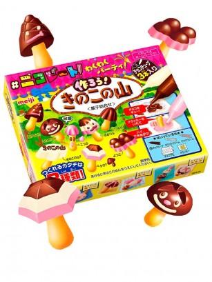 Kit DIY Bombones Chocolate Fresa | Meiji Kinoko