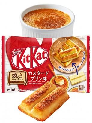 Mini Kit Kats de Pudding de Crema Pastelera especiales para Hornear | 12 Unds.