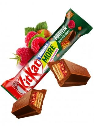 Gran Kit Kat Protein de Chocolate, Frambuesas y Avellanas 42 grs