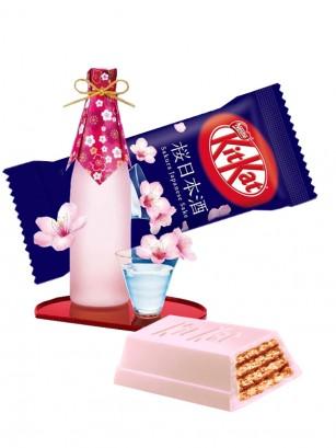 Mini Kit Kats de Sake de Sakura Unidad