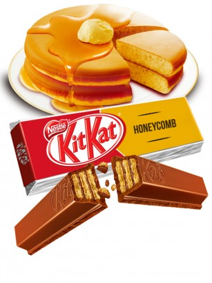 Kit Kat de Chocolate y Torta de Miel | 2 Barritas
