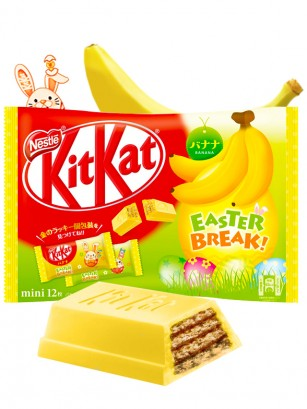Mini Kit Kat Bunny Banana 12 Unidades