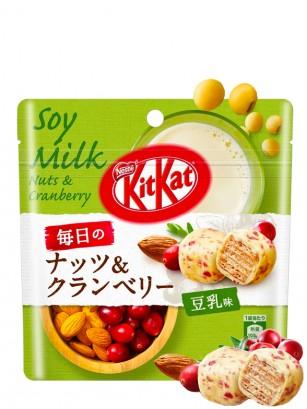 Kit Kat Bite de Bebida de Soja, Arándanos y Almendras 36 grs.