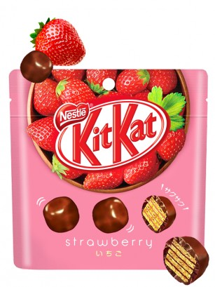 Kit Kats Bite de Fresa 45 grs