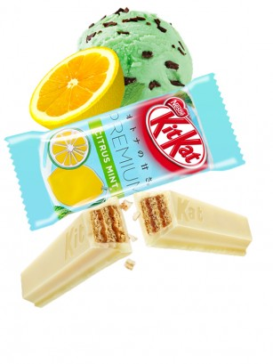 Mini Kit Kat Premium Citrus Mint | Unidad