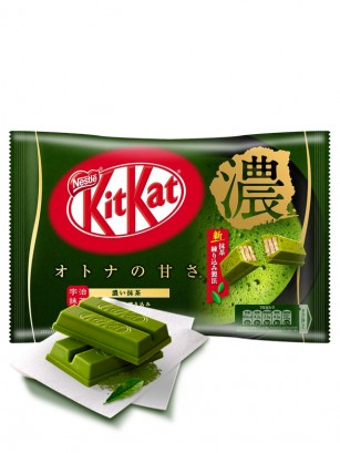 Mini Kit Kats de Matcha Gyokuro Uji | Edi. Limitada  | 13 Unidades