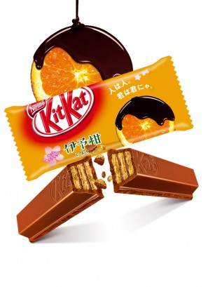 Mini Kit Kat de Chocolate y Naranja | Unidad
