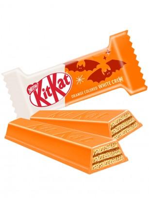 Mini Kit Kat Chocolate Blanco Naranja | Edición Halloween