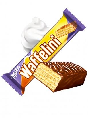 Chocolatina Waffer de Nata y Chocolate Milka 31 grs.