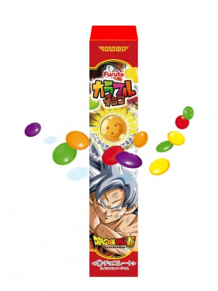 Grageas de Chocolate y Azúcar de Colores | Dragon Ball Super 25 grs. | Pedido GRATIS!