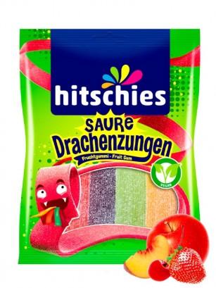 Lenguas de Dragón de Gominolas Ácidas | Sabor a Frutas 125 grs.