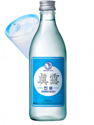 Licor Coreano Soju | Jinro 350 ml.