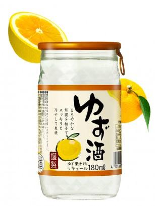 Sake de Yuzu Japonés 180 ml
