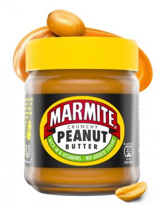 Crema de Cacahuete Crunchy | Marmite 225 grs.