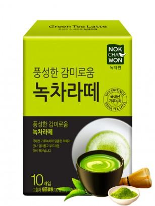 Sticks Matcha Latte Coreano | 10 Sticks