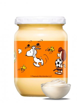 Mayonesa Japonesa Kewpie Frasco | Ed. Orange Snoopy 250 grs.