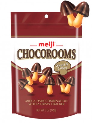 Galletitas Kinoko de Chocolate Meiji 38 grs.