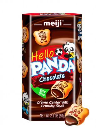 Meiji Hello Panda de Crema de Chocolate 60 grs