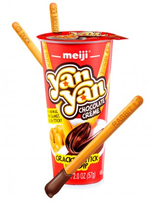 Meiji Sticks Yan Yan Chocolate 57 grs