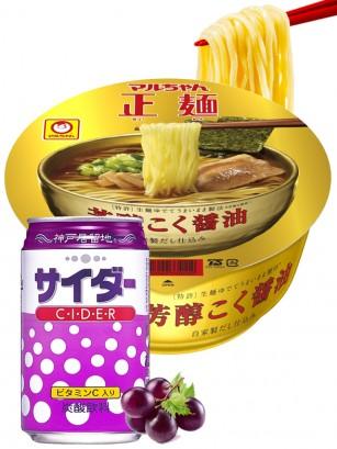 Menu DUO | Ramen Tonkotsu Bambu & Soda de Uva de Kobe | OFERTA